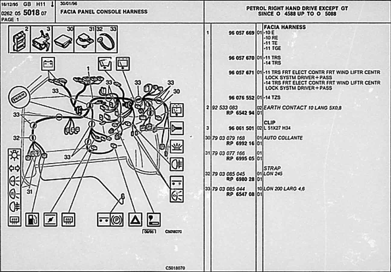 citroen wiring diagrams